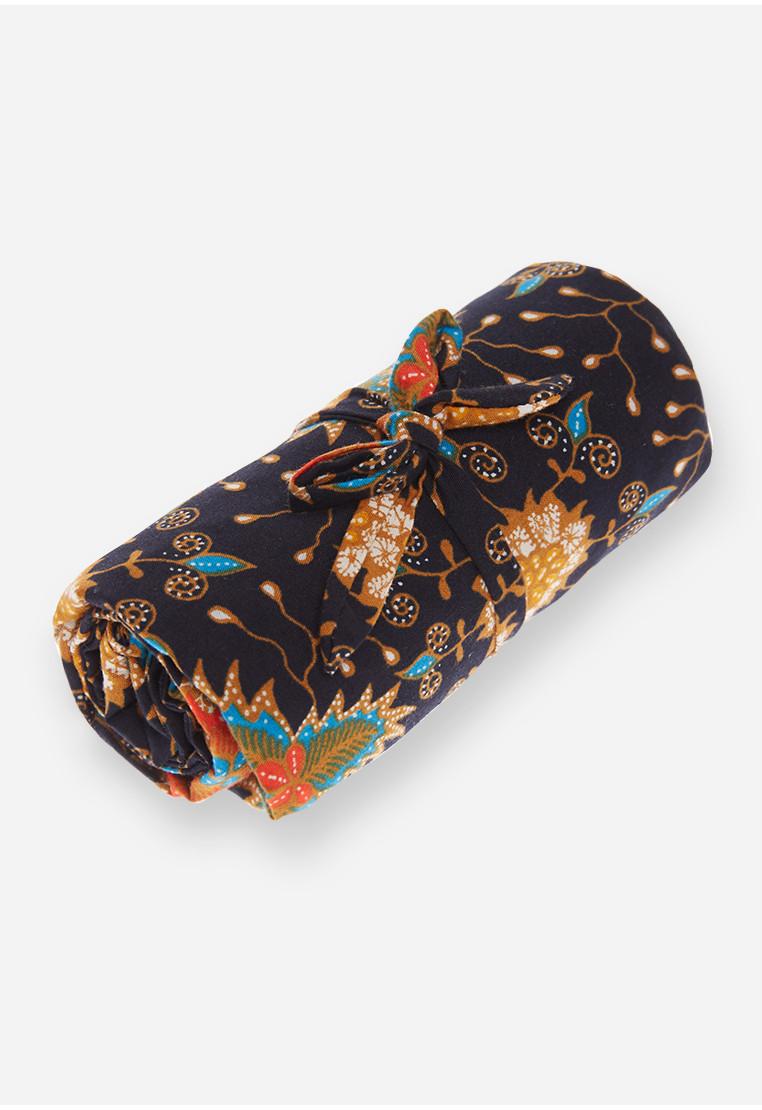 Foldable Bag - Navy/Black