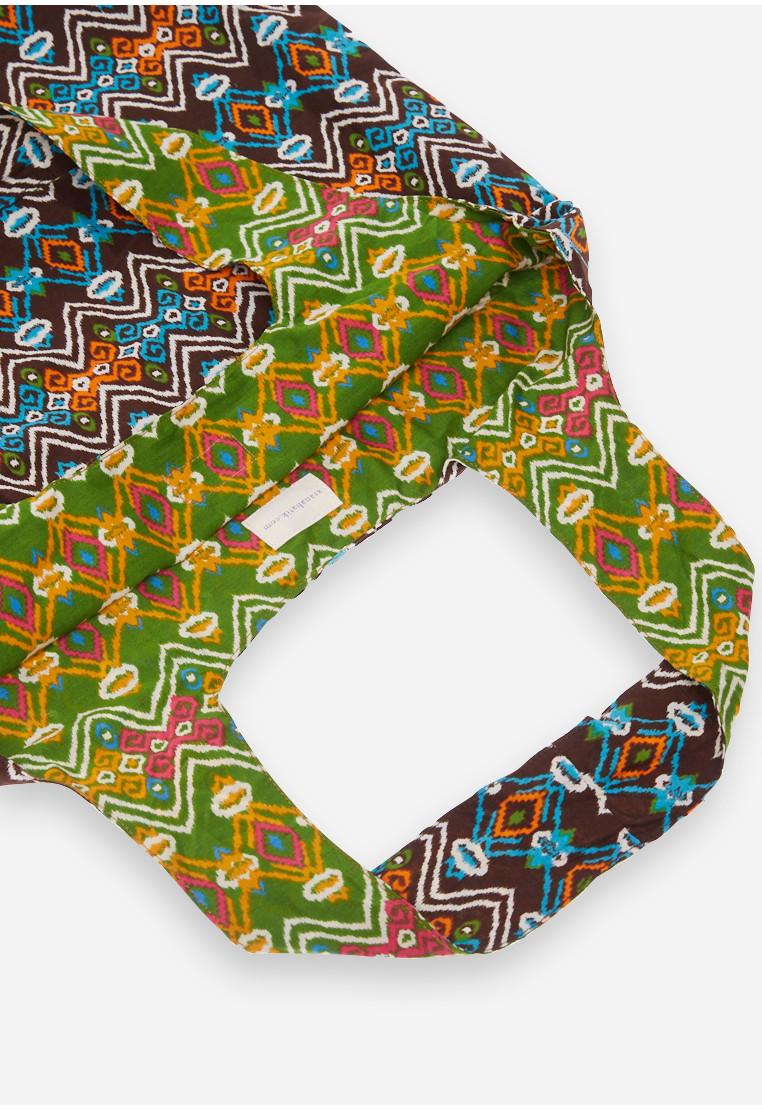 Foldable Bag - Green/Black
