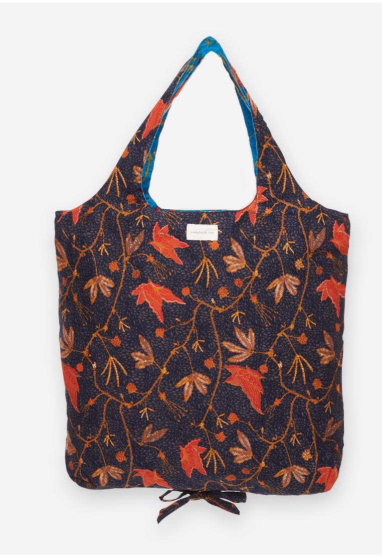 Foldable Bag - Blue/Black