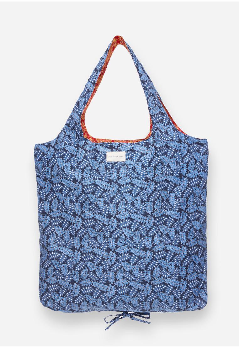 Foldable Bag - Blue/Red