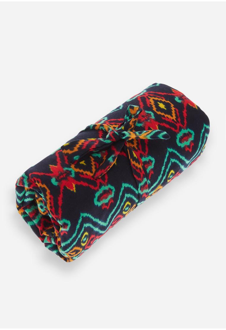 Foldable Bag - Black/Red