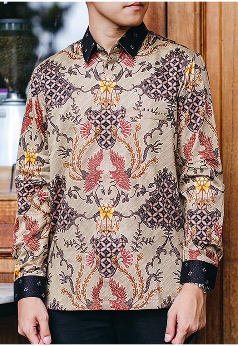 Kawuta Long Sleeves Silk Cotton