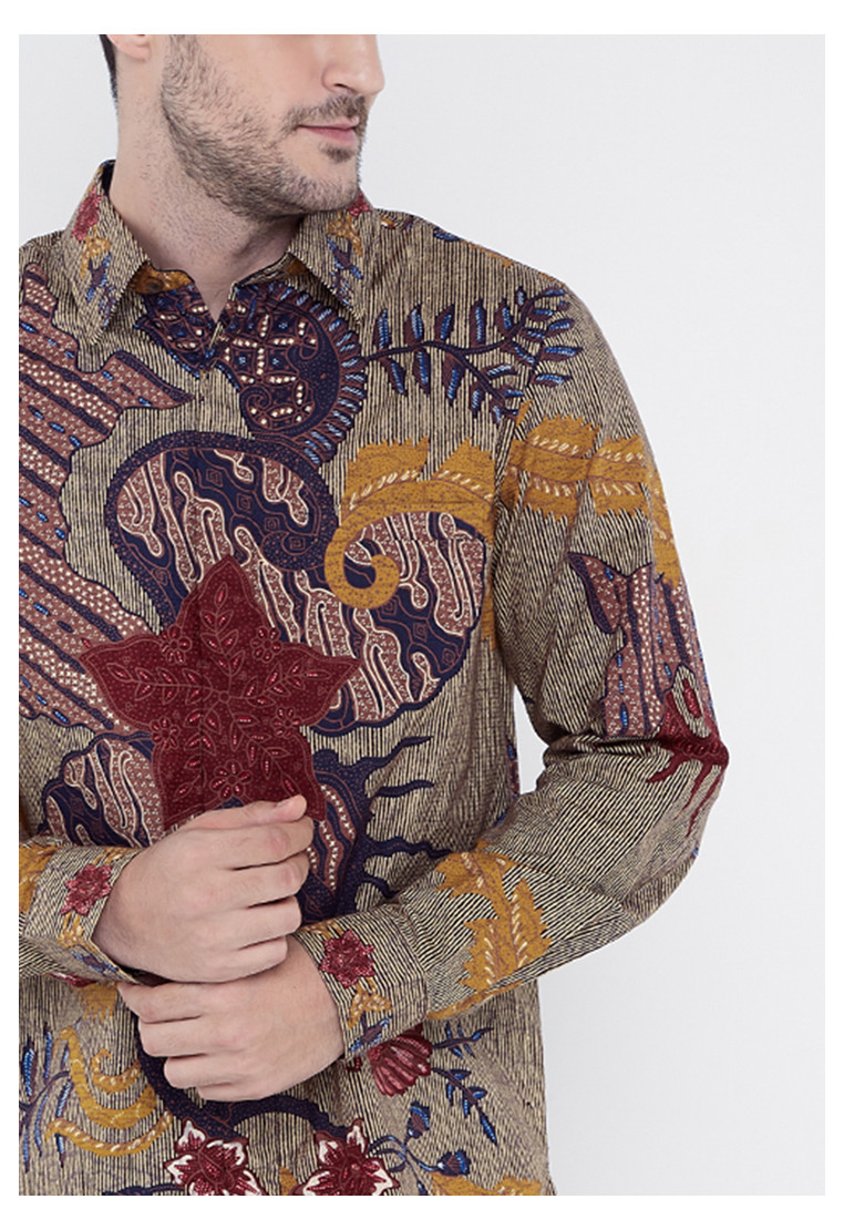 Kencana Long Sleeves Dobby Cotton